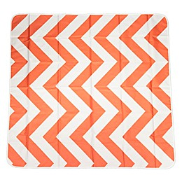 Prince LionHeart® Chevron Catchall Floor Mat in Orange