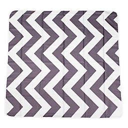 Prince LionHeart® Chevron Catchall Floor Mat in Grey