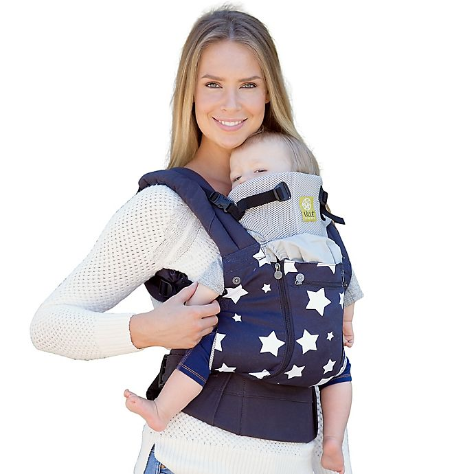 Alternate image 1 for LÍLLÉbaby® COMPLETE™ All Seasons Baby Carrier in Stars in our Eyes