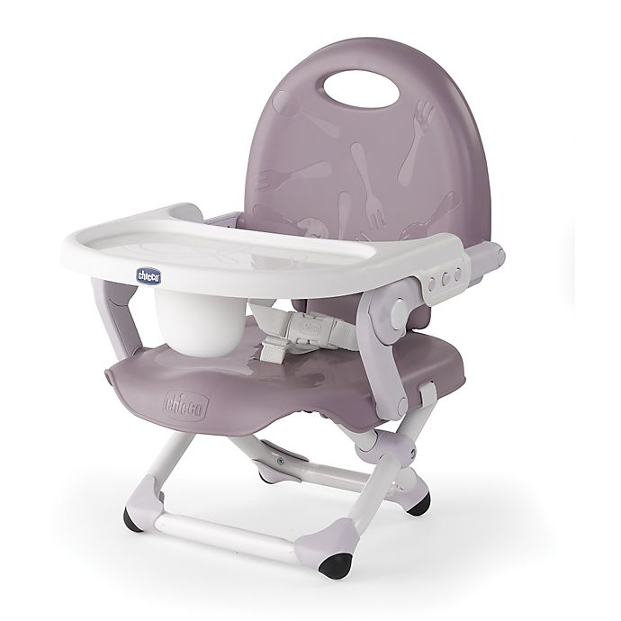 Alternate image 1 for Chicco® Pocket Snack Portable Booster Seat in Lavender