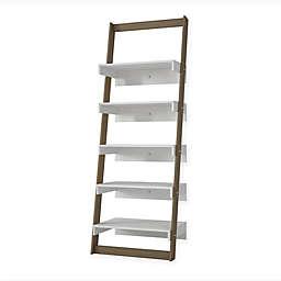Manhattan Comfort Carpina Ladder Shelf Bookcase