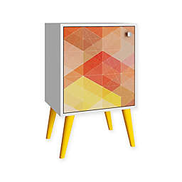 Manhattan Comfort Funky Avesta Side Table