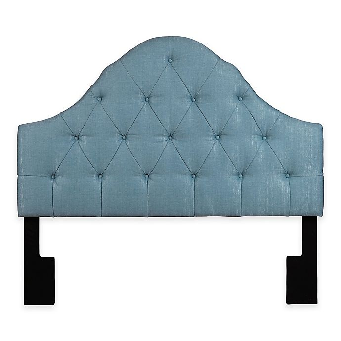 Ski High Arch On Tufted Upholstered King Headboard View A Larger Version Of This Product Image