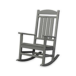 POLYWOOD® Presidential Rocker in Slate Grey