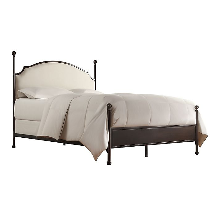 Alternate image 1 for iNSPIRE Q® Shiloh Full Poster Bed in Bronze/Brown