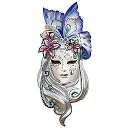 Design Toscano Mask of Venice Wall Sculpture: Butterfly Mask
