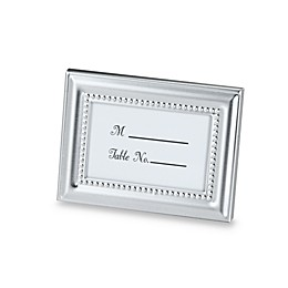 Kate Aspen® Beaded Photo Frame and Place Card Holder
