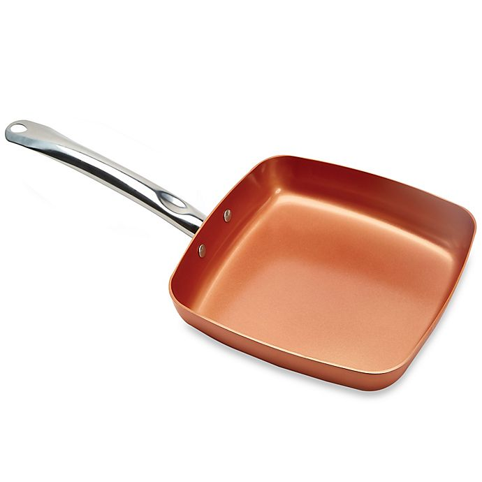 Alternate image 1 for Copper Chef™ 9.5-Inch Square Nonstick Fry Pan
