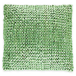 Surya Zaragoza Square 20-Inch Throw Pillow in Seafoam Green