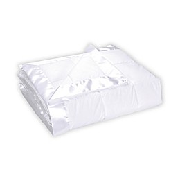 St. James Home Cotton Quilted Down Blanket in White