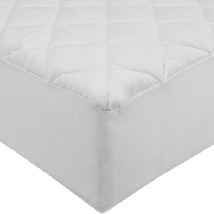 Alternate image 1 for St. James Home 300-Thread Count Stain-Resistant Full Mattress Pad
