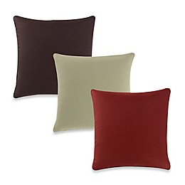 Aura Silki Box 20-Inch Square Throw Pillow