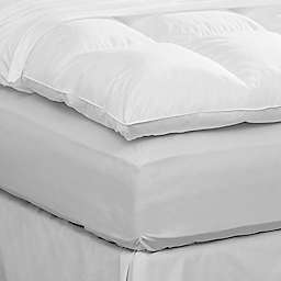 Pacific Coast™ Twin Feather Bed Protector in White