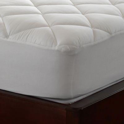 spring air mattress pad Spring Air® Illuna™ Ultra Plush Comfort Mattress Pad | Bed Bath  spring air mattress pad
