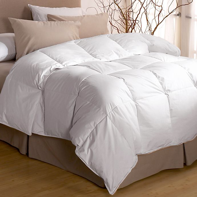 Alternate image 1 for Restful Nights® Premium Down Comforter in White