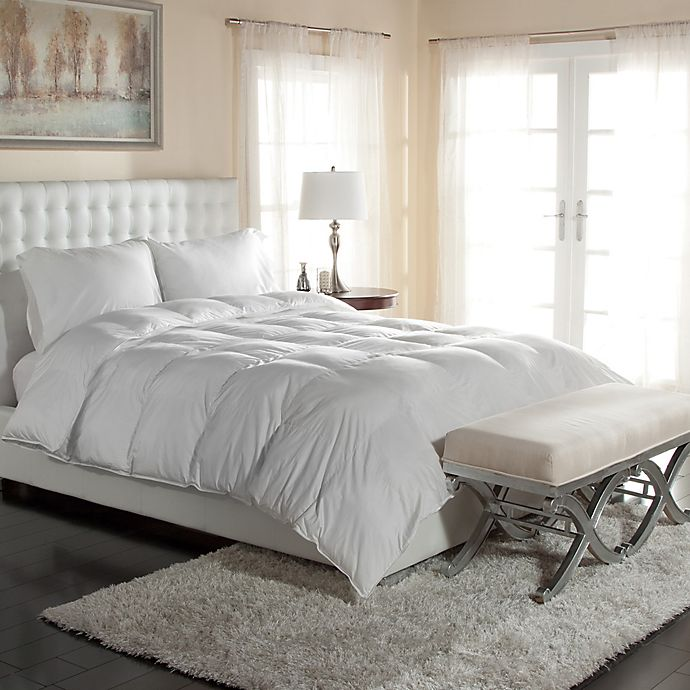 Alternate image 1 for PrimaLoft® 400-Thread-Count Down Alternative Comforter in White