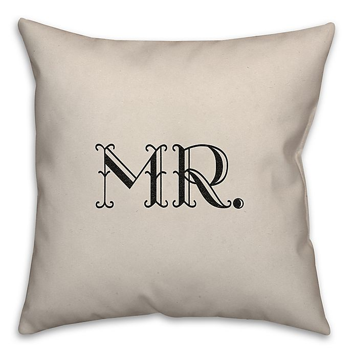 Alternate image 1 for Eloquent Love Reverse Throw Pillow