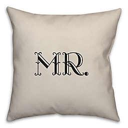 Eloquent Love Reverse Throw Pillow