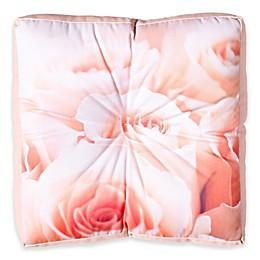 Deny Designs Bree Madden Rose Petals Square Floor Pillow