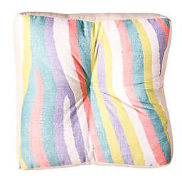 Deny Designs Nick Nelson Fruit Stripes Square Floor Pillow