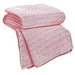 Nottingham Home Chevron Cotton Blanket