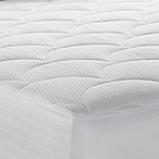 Therapedic® 500-Thread Count King Mattress Pad in White