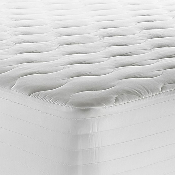 Alternate image 1 for Therapedic® 250-Thread-Count Waterproof Full XL Mattress Pad