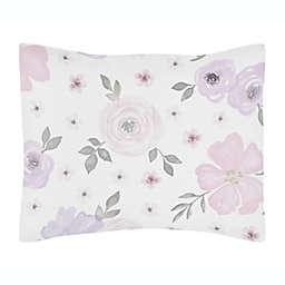 Sweet Jojo Designs® Watercolor Floral Pillow Sham