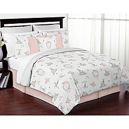 Sweet Jojo Designs Bunny Floral Bedding Collection