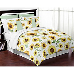 Sweet Jojo Designs® Watercolor Sunflower Bedding Collection