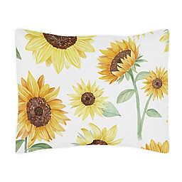 Sweet Jojo Designs® Watercolor Sunflower Standard Pillow Sham