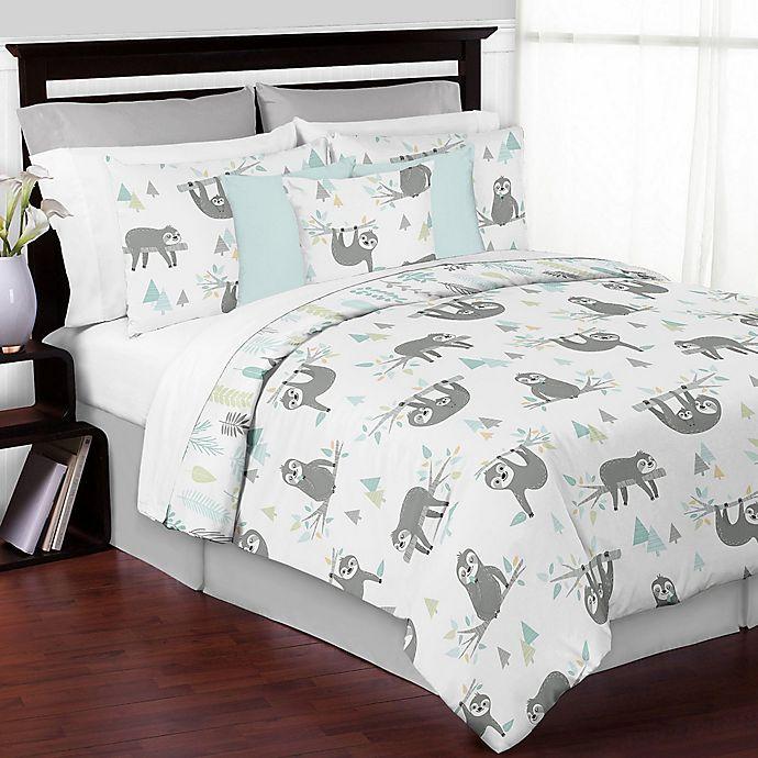 Alternate image 1 for Sweet Jojo Designs Sloth Bedding Collection