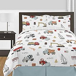 Sweet Jojo Designs® Construction Truck Bedding Collection