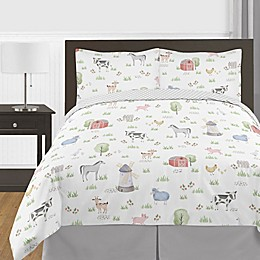 Sweet Jojo Designs Farm Animals Bedding Collection