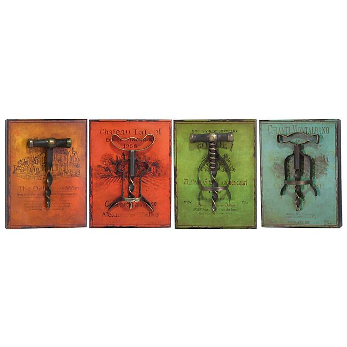 Kitchen Wall Decor Bed Bath And Beyond: Buy Vintage Corkscrew Plaque Mini Wall Art From Bed Bath