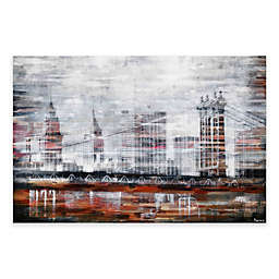 Parvez Taj Brooklyn Bridge Canvas Wall Art