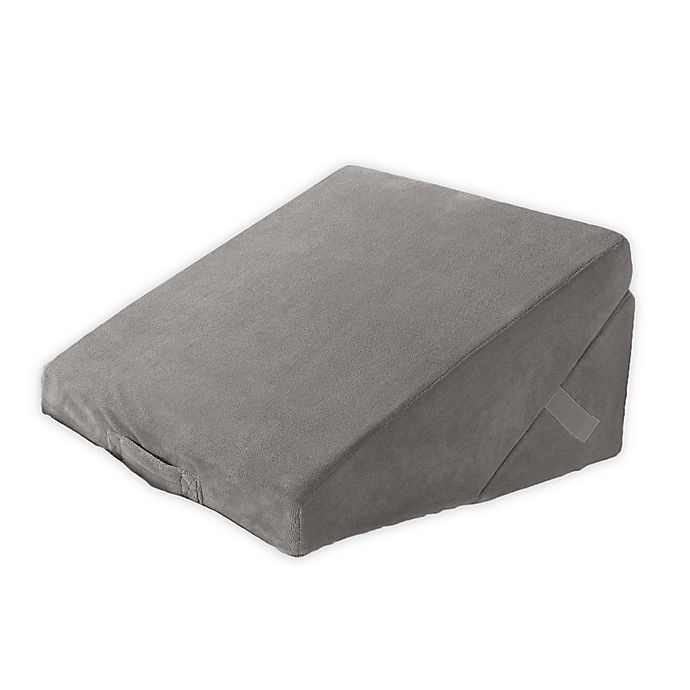 Alternate image 1 for Brookstone® 4-in-1 Bed Wedge Support Pillow