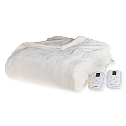 Brookstone® n-a-p® Heated Plush Blanket