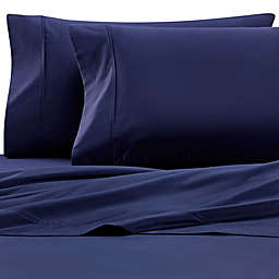 Brookstone® BioSense 500-Thread-Count Tencel Standard/Queen Pillowcase Set in Blue Jean