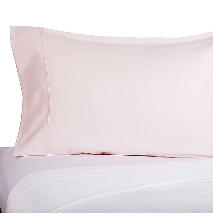 Alternate image 1 for Brookstone® BioSense® Cotton Sateen 400-Thread-Count Cosmetic Pillowcase
