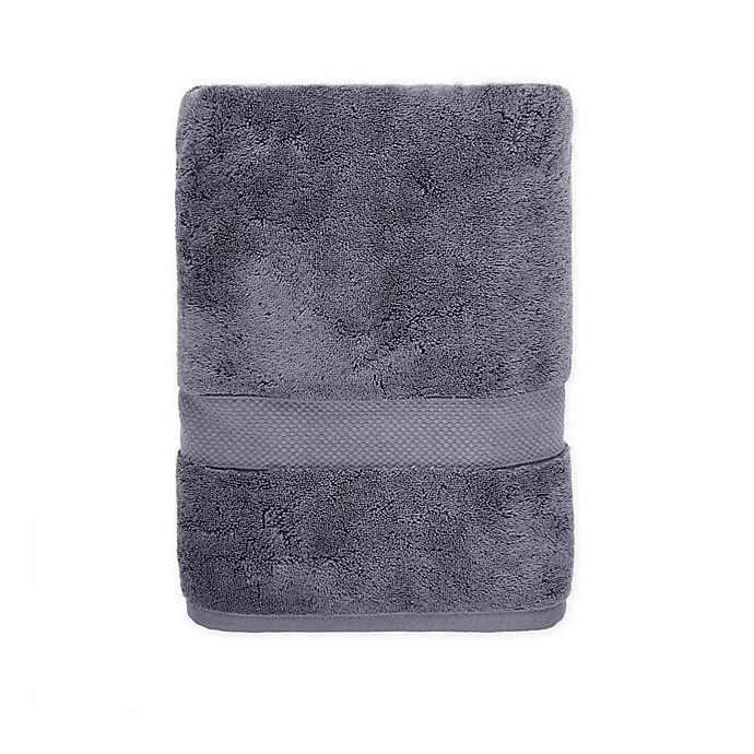Alternate image 1 for Wamsutta® Egyptian Cotton Bath Towel in Steel Grey