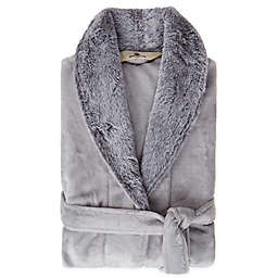 Bee & Willow™ Faux Fur Large/X-Large Robe in Grey