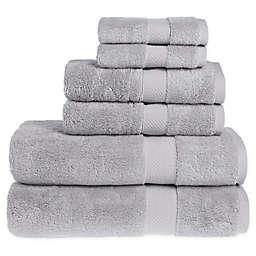 Wamsutta® Egyptian Cotton Bath Towels in Silver (Set of 6)