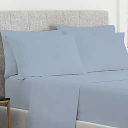 Claritin® Allergen Barrier 300-Thread-Count King Pillowcases in Blue (Set of 2)