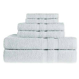 Simply Essential™ 6-Piece Towel Set in Blue