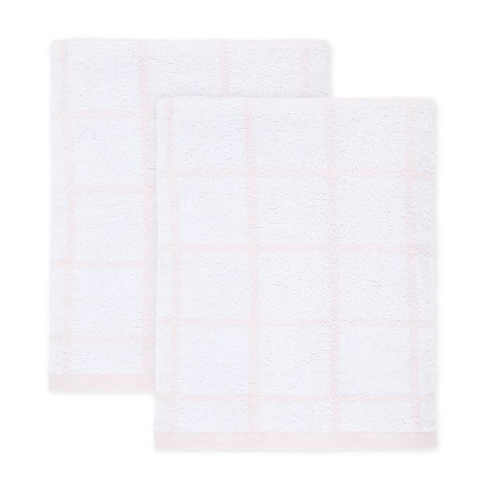 Alternate image 1 for Simply Essential™ Cotton 2-Piece Bath Towel Set in Rosewater