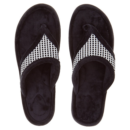Alternate image 1 for Brookstone® Thong Slippers