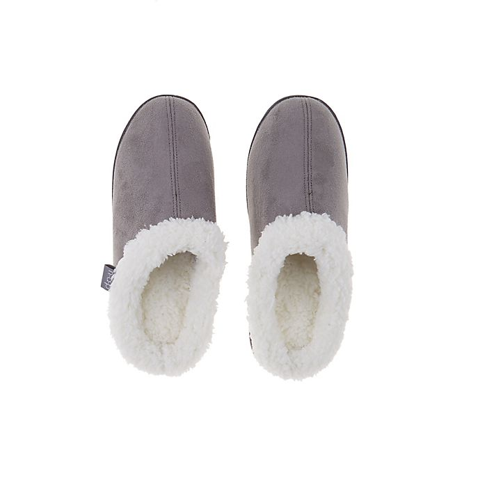 Alternate image 1 for Brookstone® Classic Slip-On Sherpa Slippers