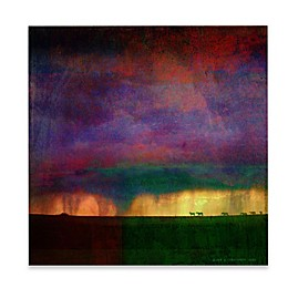 Marmont Hill Storm Sketch With Horses 32-Inch x 32-Inch Canvas Wall Art