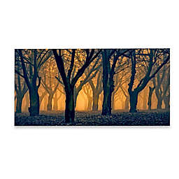 Marmont Hill Woods Aglow 45-Inch x 22-Inch Canvas Wall Art